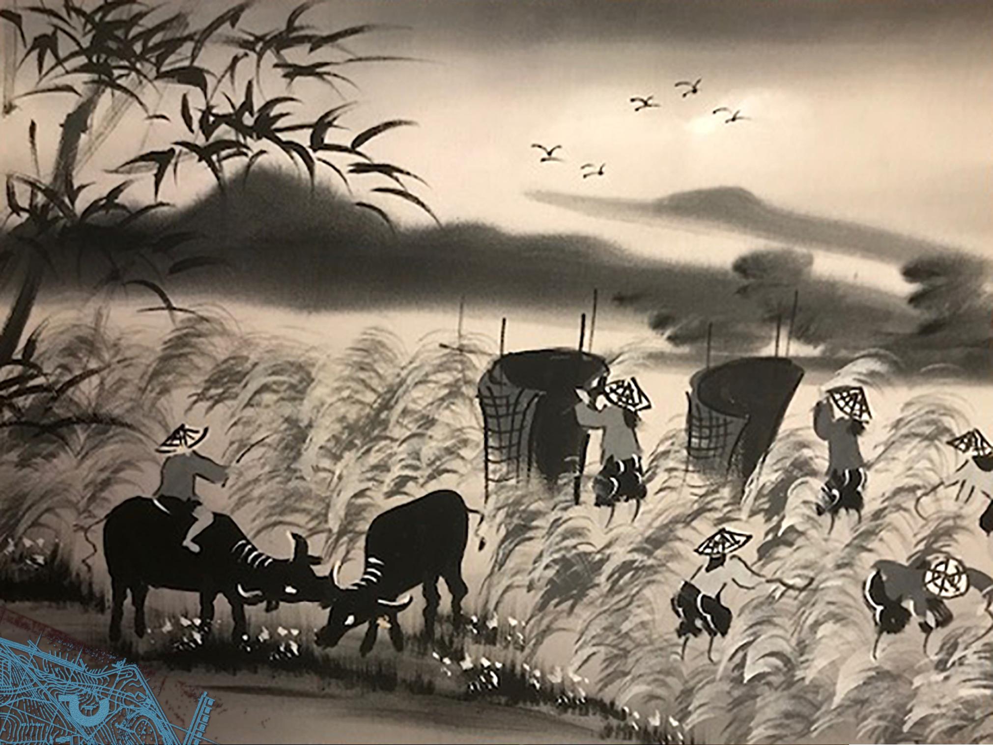Chinese brushwork - Water BUffalo